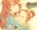 Kyoko and Momo - mahou-shoujo-madoka-magica fan art