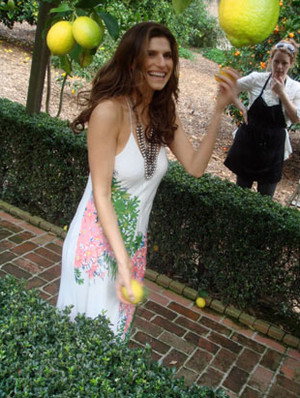 Lake ベル - Behind the Scenes of O Magazine Photoshoot - April 2010