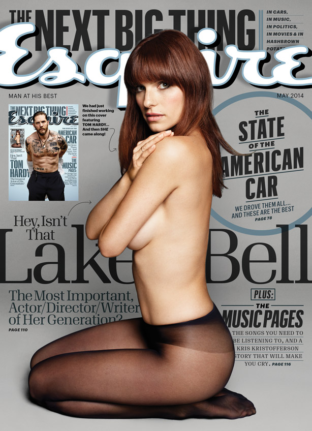 Lake sino - Esquire Photoshoot - May 2014