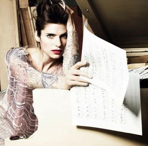 Lake колокол, колокольчик, белл - Vogue Italy Photoshoot - April 2014
