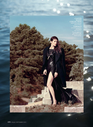 Lake bel, bell in Instyle Magazine - September 2013
