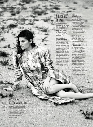 Lake گھنٹی, بیل in Instyle Magazine - September 2013