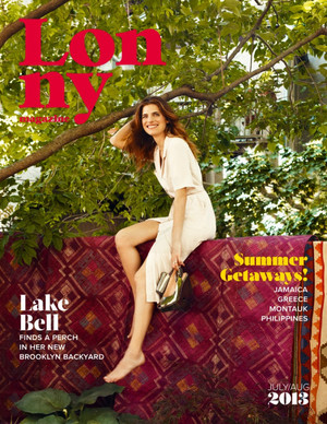 Lake گھنٹی, بیل in Lonny Magazine - July/August 2013