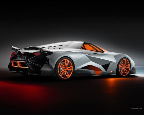 Lamborghini Wallpaper Probably Containing A Sports Car Titled Lamborghini  Egoista