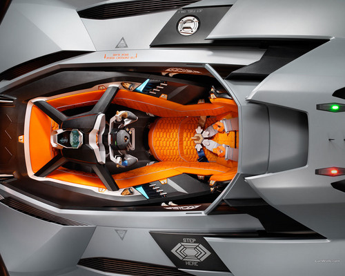 Lamborghini Wallpaper With An Automobile Called Lamborghini Egoista