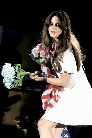 Lana Del Rey The Endless Summer Tour in Los Angeles, CA.