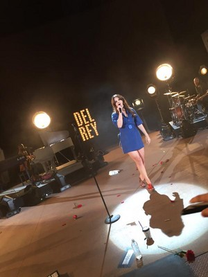 Lana Del Rey's Endless Summer Tour at Red Rock,Colorado
