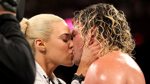 WWE wallpaper called Lana and Dolph Ziggler