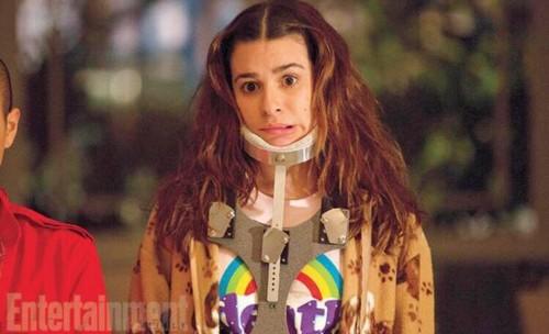 """Lea Michele fondo de pantalla probably containing a portrait called Lea Michele """"Scream Queens"""""""