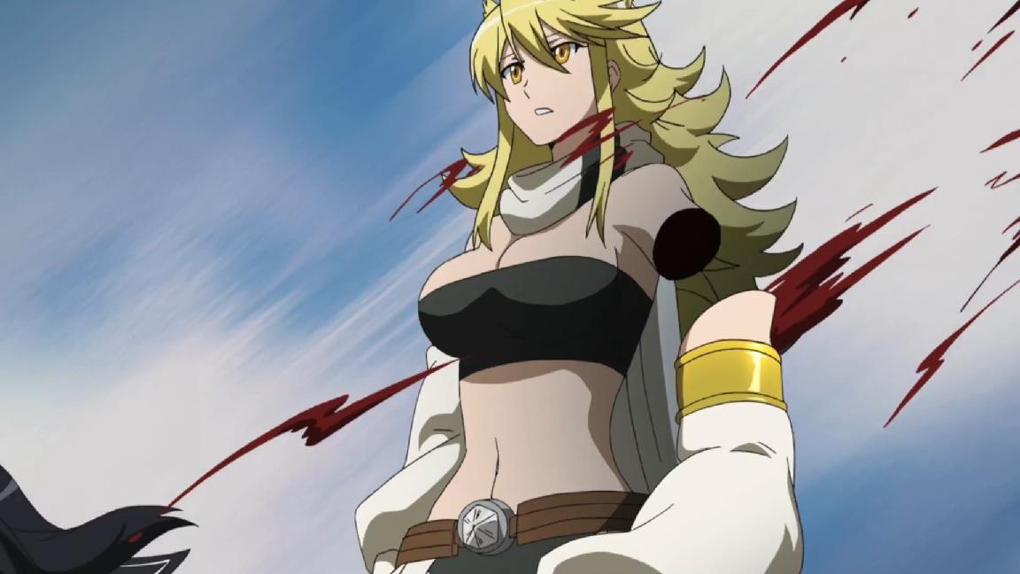 Leone's arm cut da Kurome .