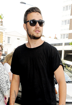 Liam Payne at studio in West London, 24 April 2015.