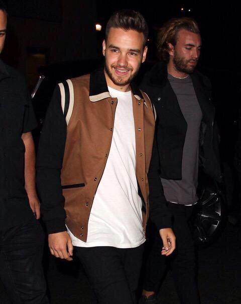 Liam leaving a club in Los Angeles
