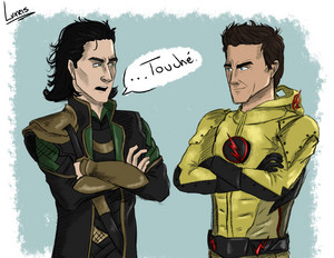 Loki and Reverse Flash