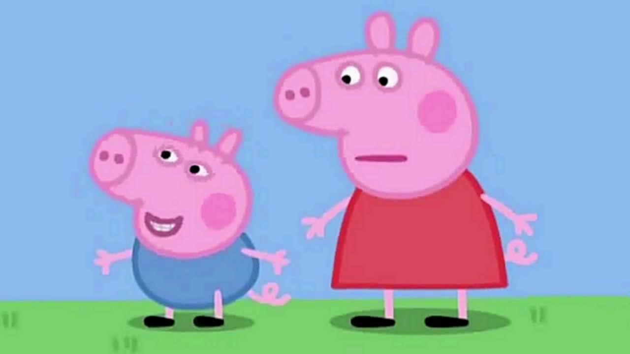peppa pig images lol les t tes hd wallpaper and background