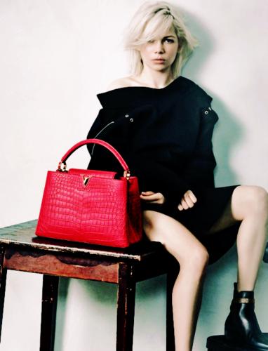 Michelle Williams wallpaper titled Louis Vuitton's handbag campaign Spring 2015