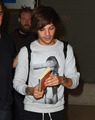 Louis arriving at LAX
