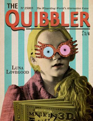 Luna Lovegood on Quibbler