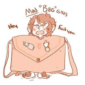 """Mad """"Bag"""" gins"""