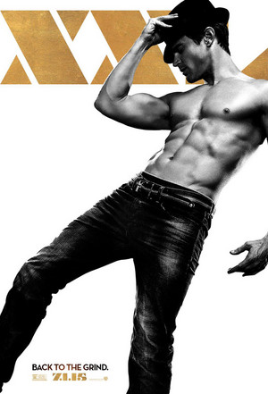 Magic Mike XXL - teaser poster