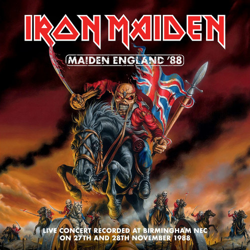 Iron Maiden wallpaper with anime entitled Maiden England '88