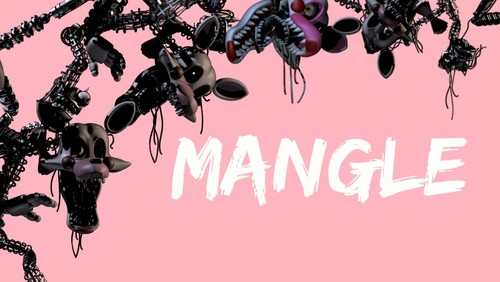 Five Nights at Freddy's wallpaper called Mangle Wallpaper made by me