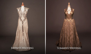 Margaery Tyrell's wedding vestido