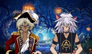Marik and Bakura costumes~