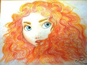 Merida Công chúa tóc xù