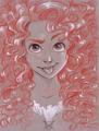 Merida     - disney-princess fan art