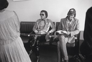 Michael Jackson - HQ Scan - Michael waits in the executive lounge for a flight on Delta Airl