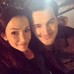 Michael Malarkey and Annie Wersching