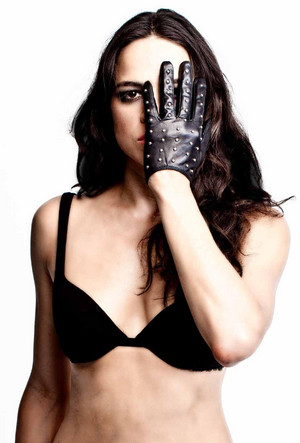Michelle Rodriguez in All Hollow Magazine - Fall 2013