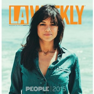 Michelle Rodriguez in LA Weekly - May 2015