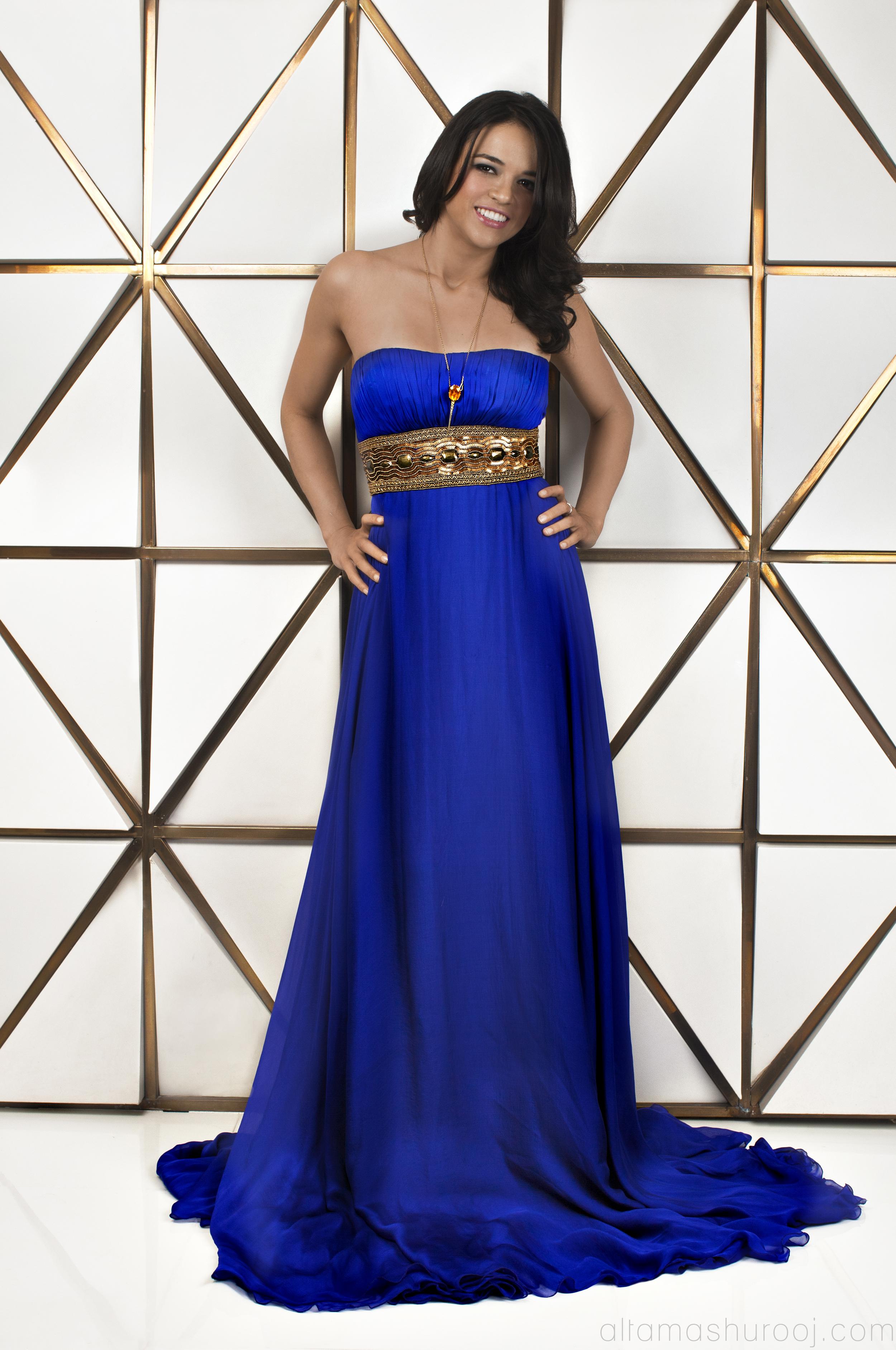 Michelle Rodriguez in OK Magazine - 2012