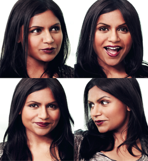 Mindy Kaling in Audrey Magazine - Winter 2011