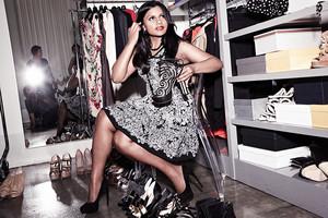 Mindy Kaling in BlackBook Magazine - 2012