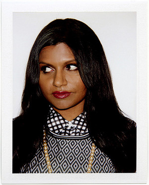 Mindy Kaling in BlackBook Magazine - 2012