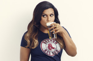 Mindy Kaling in Boston Magazine - April 2015