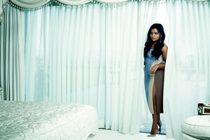Mindy Kaling in Flare Magazine - September 2014