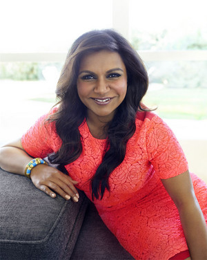 Mindy Kaling in Good Housekeeping - February 2015