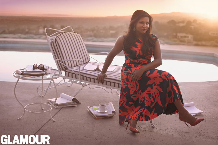 Mindy Kaling is Glamour's Woman of the Year - 2014