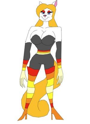Minerva vison as Hypnotia
