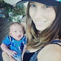 Mini JT with his mom Jessica Biel