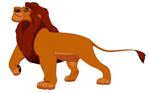 The Lion King kertas dinding titled Mufasa