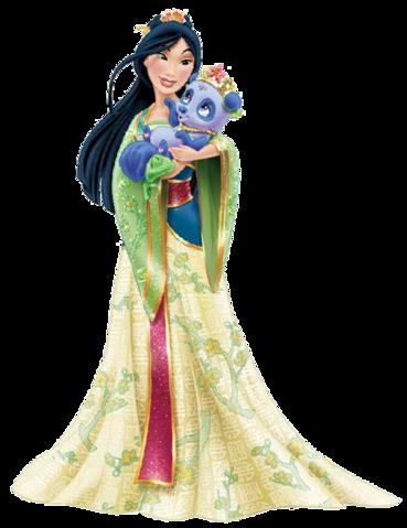 Mulan and Blossom