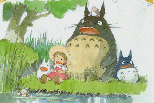 My Neighbor Totoro پیپر وال probably with عملی حکمت entitled My Neighbour Totoro concept sketches