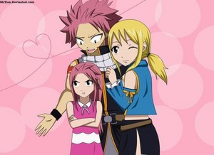 NATSU Lucy and nashi