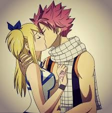 NATSU,and Lucy