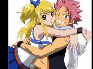 NATSU and Lucy's first tanggal