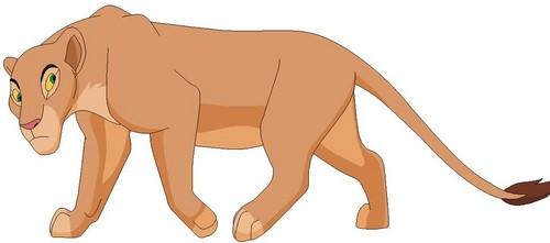 The Lion King kertas dinding called Nala base